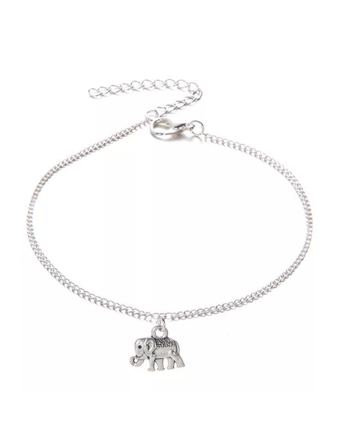 Elefánt medálos bokalánc_3