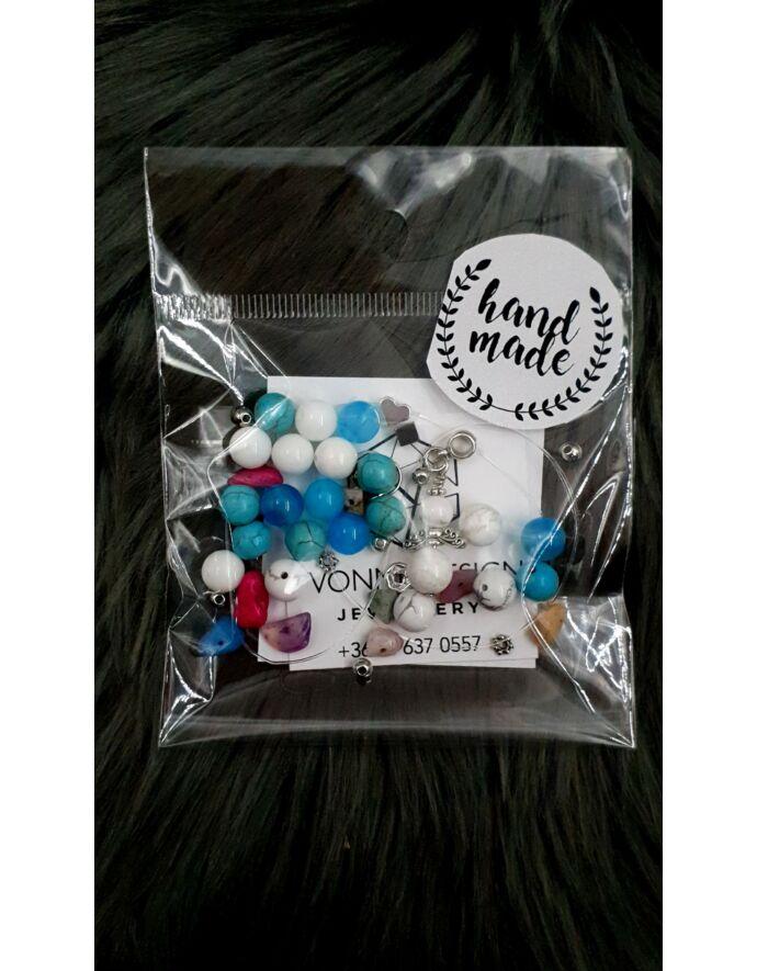 """""""Hand made"""" csomag több színű hand made, hand made csomag, csináld magad, saját ékszer"""